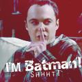 Icon : Sheldon is Batman by ManonGG