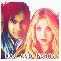 Raj and Penny TBBT