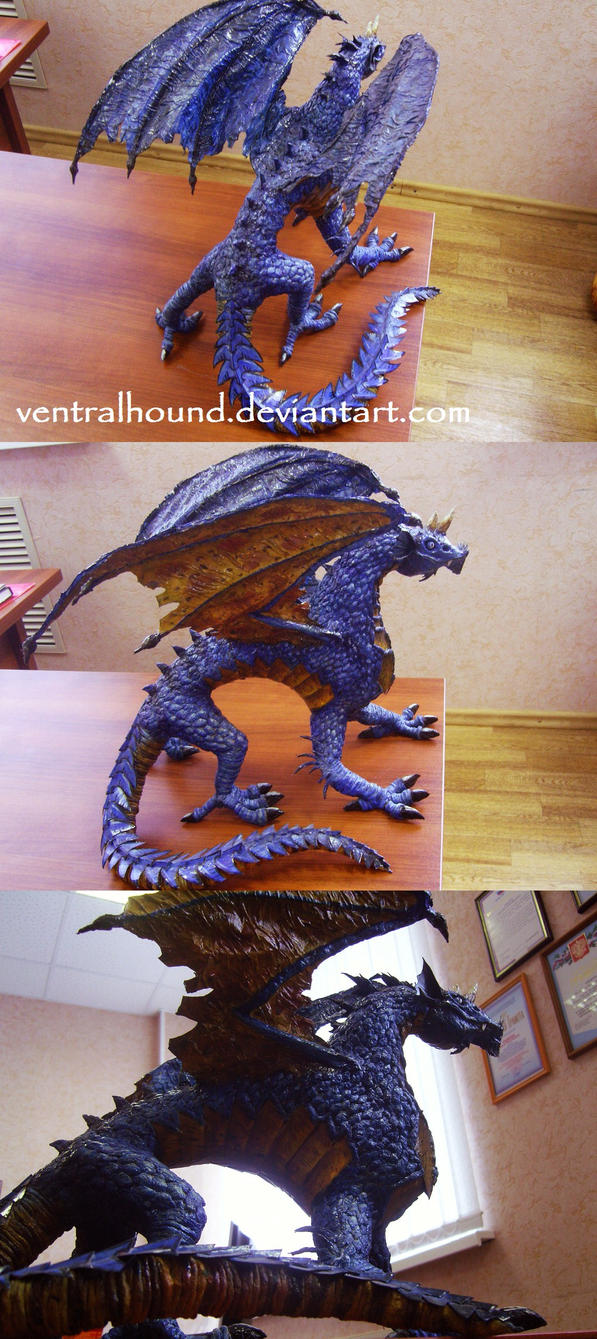 DD Series: Blue Dragon by VentralHound