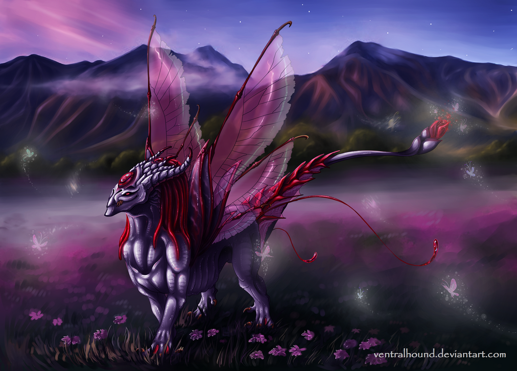 April Dragon by VentralHound