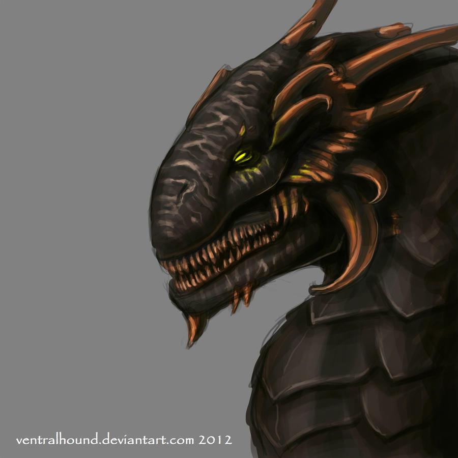 Death Dragon by VentralHound
