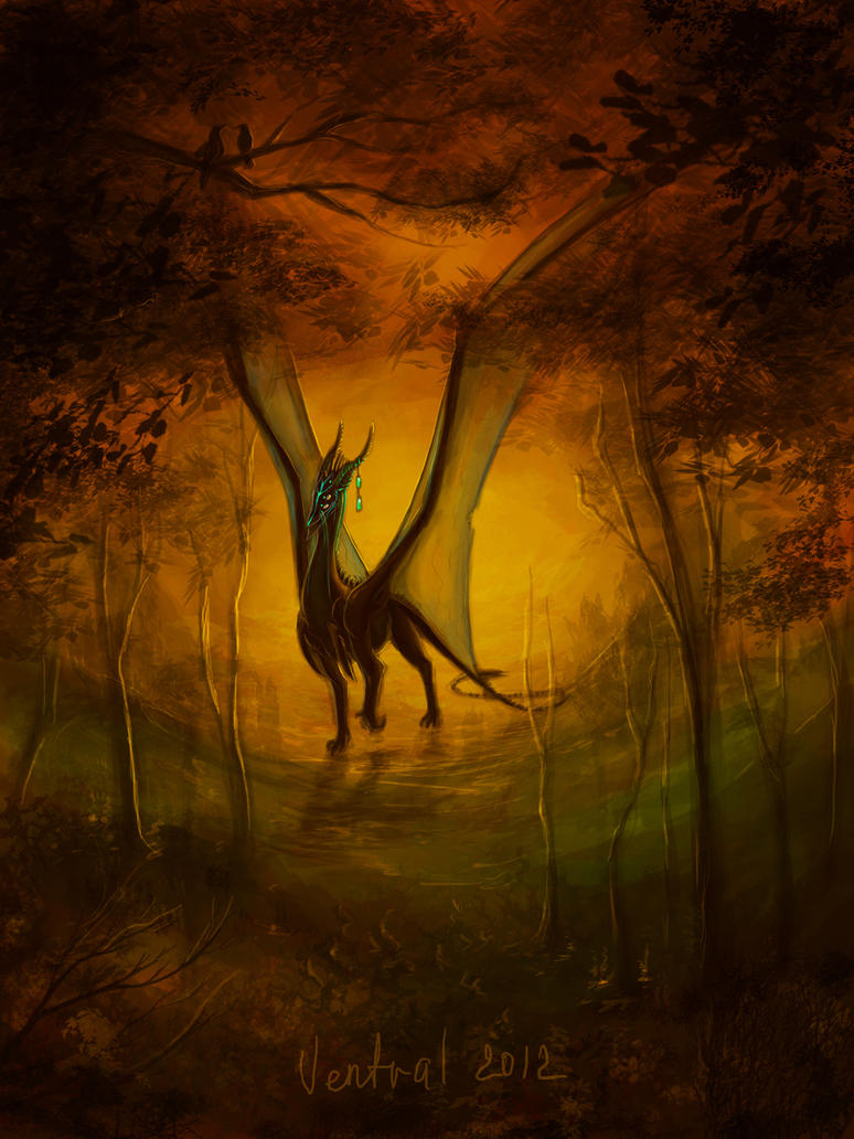 Arkai'Tor in unmodified forest by VentralHound
