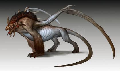 random beast by VentralHound