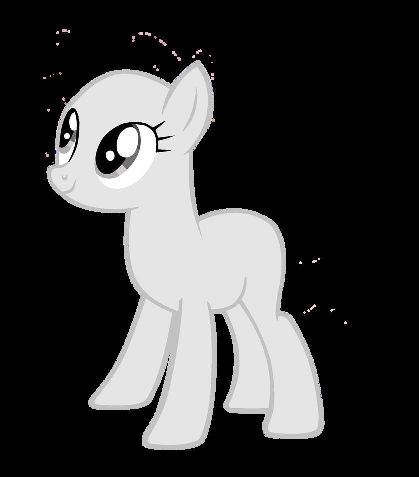my little pony base earth pony