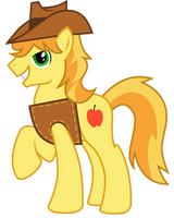 Braeburn's a Sexy Beast by WillowTails