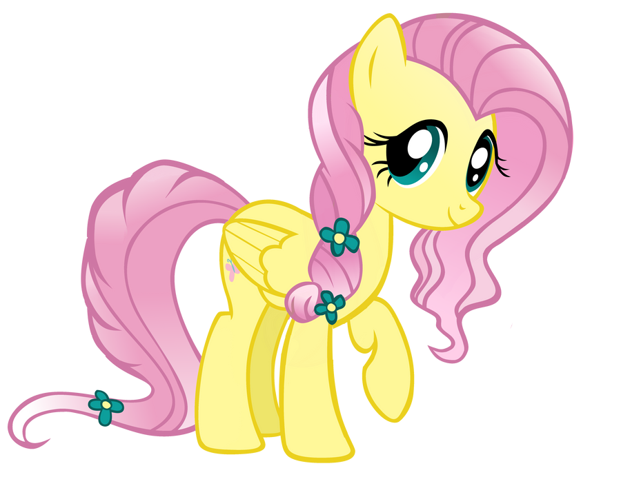Crystal Fluttershy by WillowTails