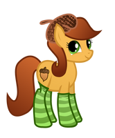 Gift: Autumn Breeze in Socks by WillowTails