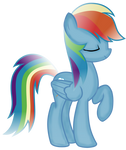 Rainbow Dash: Shading Attempt