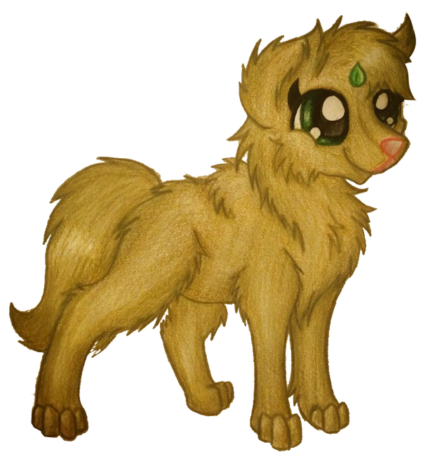 CM: Leaf wolf by WillowTails