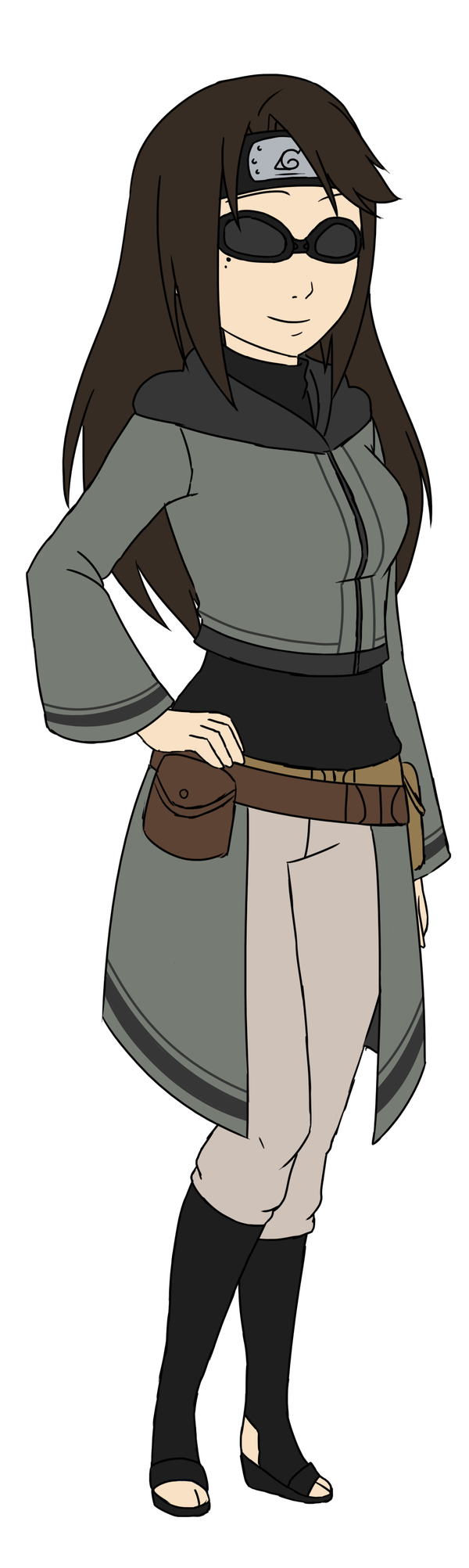 Naruto OC:: Rin Shippuden Redesign by infinitehearts on ...