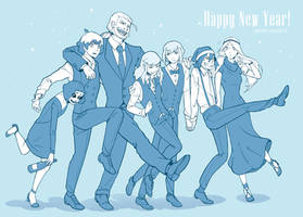 Happy New Year!!! by Mioki-Kanta