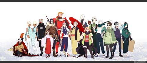 Naruto OC information