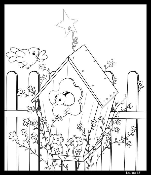 Bird House By Loulou13 On Deviantart
