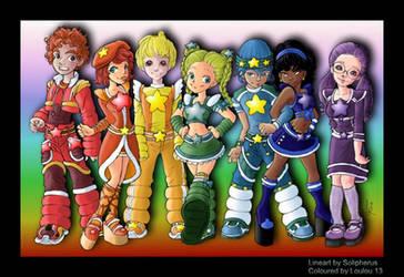 Rainbow Brite Teens by Loulou13