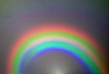 Rainbow on my Ceiling