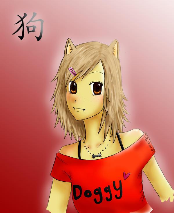 chinese zodiac: dog by godzilla23