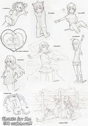 thxfor200 watch. free sketches by godzilla23