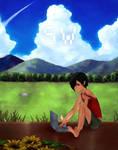 SUMMER WARS. kazuma
