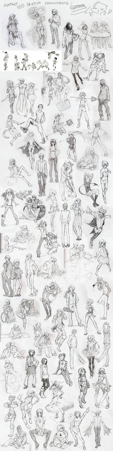 Another 100 sketches