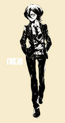 Rukia in a Suit