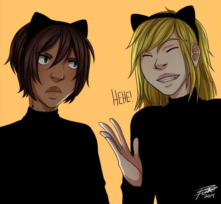 Illegibilus: Black Cats by PAMACIDE