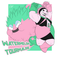 SU: Watermelon Tourmaline