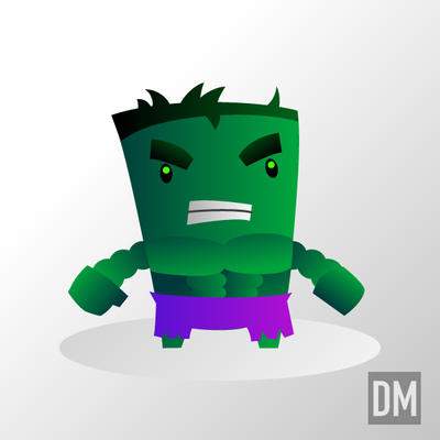 The Incredible Hulk by DanielMead