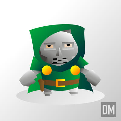Dr. Doom by DanielMead