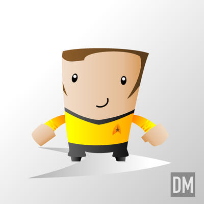 Captain James Tiberius Kirk by DanielMead