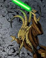 Kit Fisto, Jedi Master by DanielMead