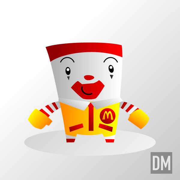 Ronald McDonald by DanielMead