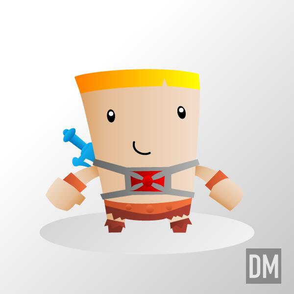 He-Man by DanielMead