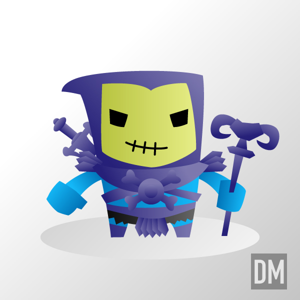 Skeletor by DanielMead