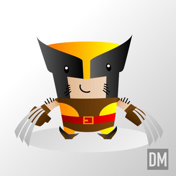 Wolverine 80's by DanielMead