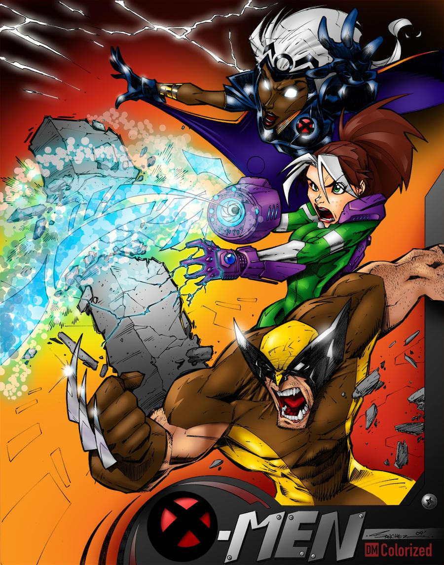 The X Men Battles - Colored by DanielMead