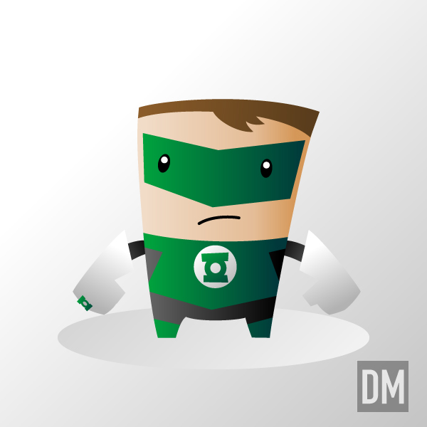 Green Lantern by DanielMead