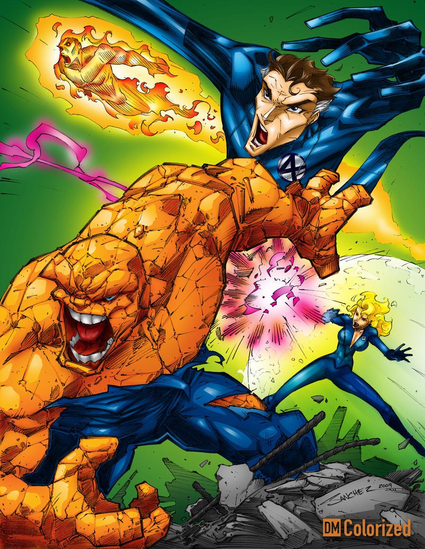 The Fantastic Battle - Color by DanielMead