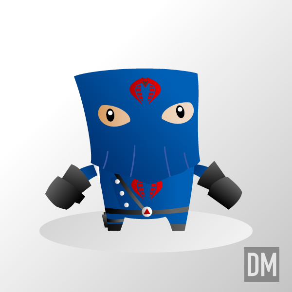 Cobra Commander Hooded by DanielMead