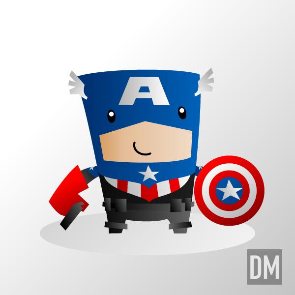 Captain America Reborn by DanielMead