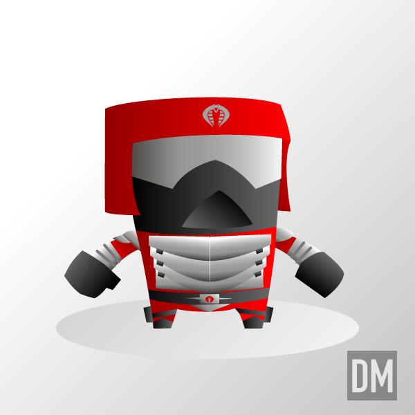 Crimson Guard Immortal Red by DanielMead