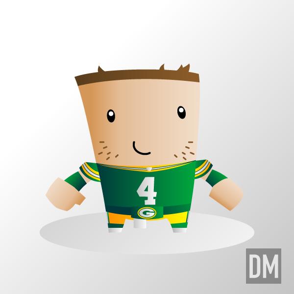 Brett Favre - Packers by DanielMead