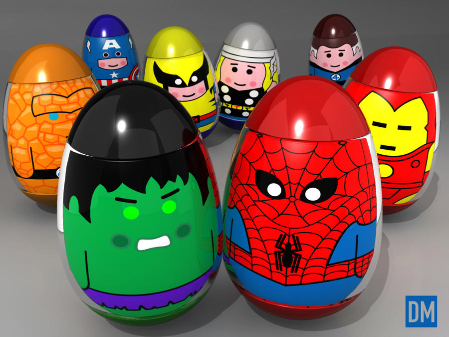Weeble - Marvel Goodness by DanielMead