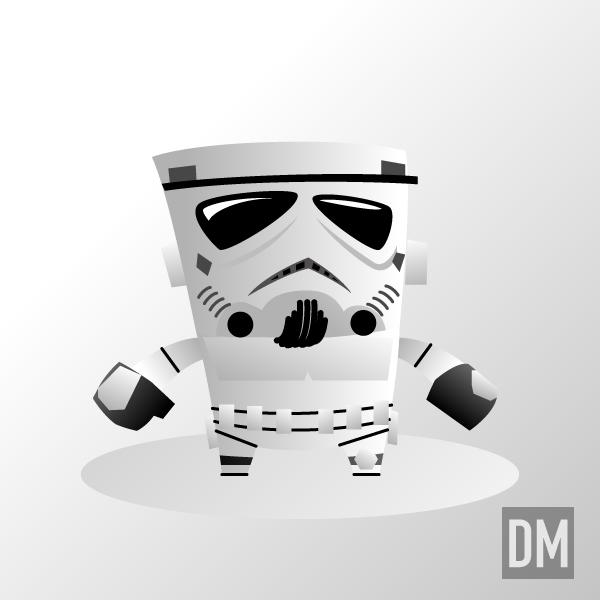 SW Stormtrooper by DanielMead