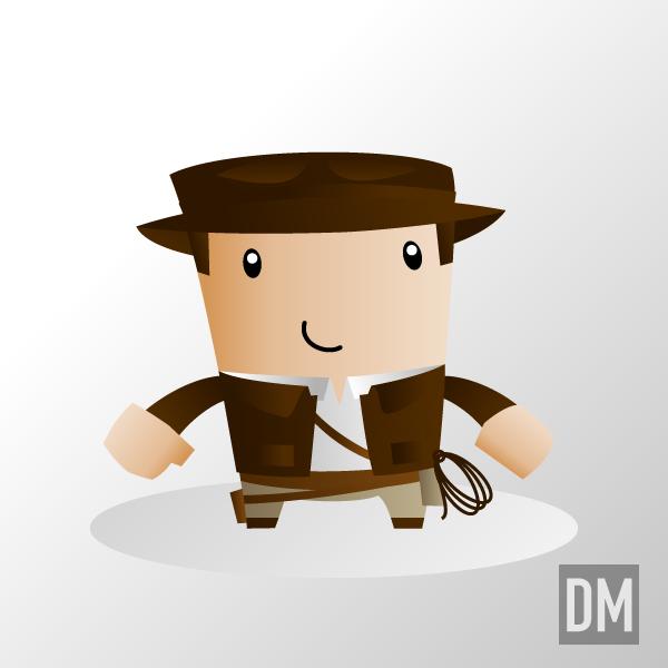 Indiana Jones by DanielMead