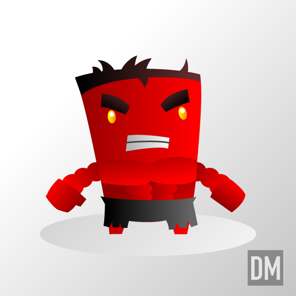 Red Hulk by DanielMead