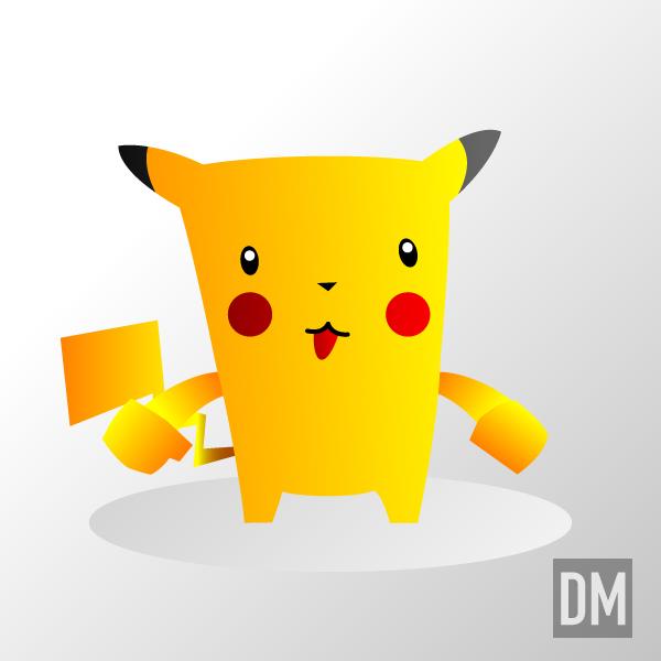 Pikachu by DanielMead