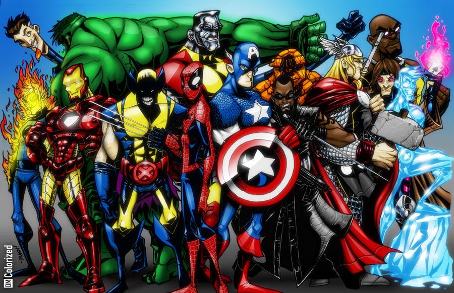 Sauceboy's Alliance Colorized by DanielMead