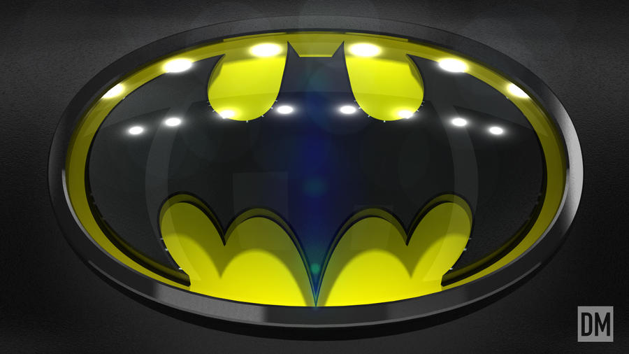 Batman Logo by DanielMead