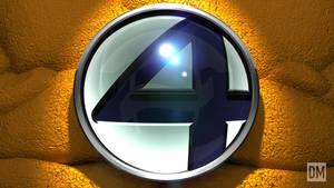 Fantastic Four Logo - Thing