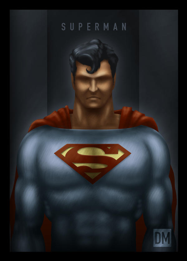 TCard - Superman by DanielMead